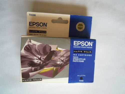 EPSON INK CARTRIDGE T0598 MATTE BLACK FOR STYLUS PHOTO R2400